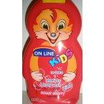 On Line Kids šampon 2v1 Cherry 250 ml