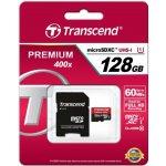 Transcend microSDXC 128GB UHS-I TS128GUSDU1