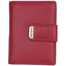 dámská kožená peněženka Kabana Červená