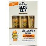 Gliss Kur Total Repair 19 vlasová okamžitá terapie pro suché vlasy 3 x 20 ml