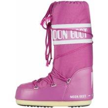 MB Nylon Sněhule Moon Boot Růžové Dámské f68021282d7