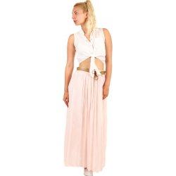 bb786b838e1 TopMode dámská maxi sukně s kapsami světle růžová alternativy ...