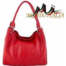 4f31e67e99 Made In Italy kožená kabelka 1107 červená
