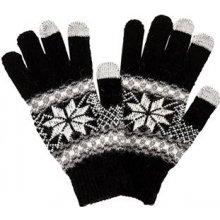rukavice pro smartphony modré