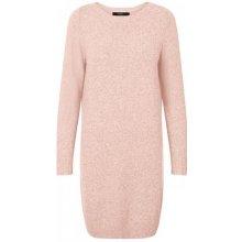 0481201d86a Vero Moda dámské šaty Doffy Structure Ls Boatneck dress boo misty rose  melange