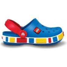 Crocs Crocband Kids Lego Sea Blue/red