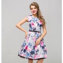 Gotta dámské květované šaty Monique GS04 barevná 0a46c1e689