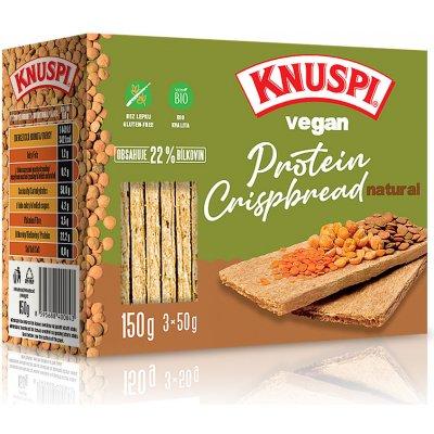 Prom In Knuspi Vegan Protein Crispbread natural 150 g