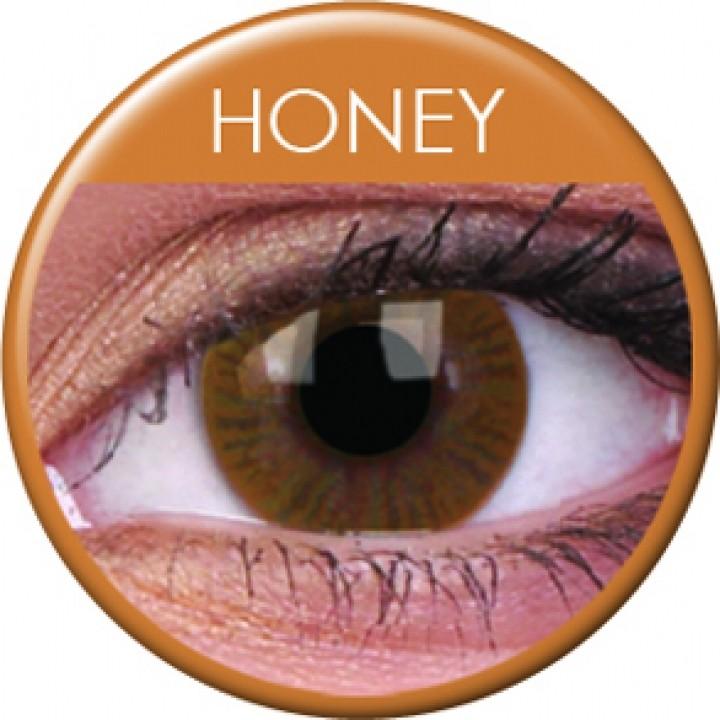 0cce8e5e0 MaxVue ColorVue Basic Honey tříměsíční nedioptrické 2 čočky od 299 Kč -  Heureka.cz
