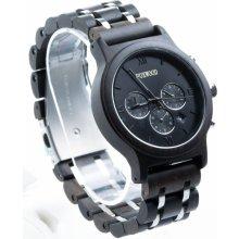 904869fa6 Dřevěné hodinky Foxwood Chronos Black