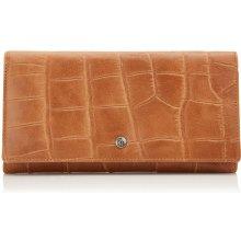 Castelijn & Beerens Dámská kožená peněženka RFID 463386 LB koňak