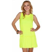 da7f843b3ca7 Merribel dámské šaty P30236 neon žlutá