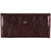 GIUDI dámská bordo kožená peněženka 7421 BLA AE
