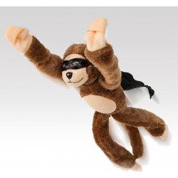 Plyšová opice Superhero