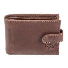 Kubát Pánská kožená černá peněženka Kůže 70042