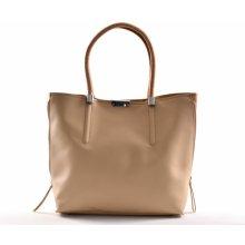 e8f57cb61a Bright Fashion kabelka a kapsa 2v1 syntetická A4 béžová