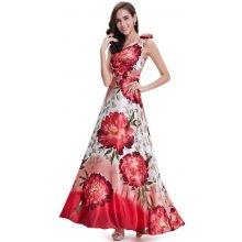 5ea56366c Ever-Pretty nejen letní saténové šaty s květy 9623