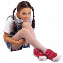 Evona dívčí punčochové kalhoty Ivalka 111 bílé
