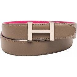 Tommy Hilfiger dámský oboustranný kožený pásek H-belt c3985ef1cd