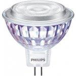 Philips LED žárovka MR16 GU5,3 7W 50W teplá bílá 2700K stmívatelná, reflektor 12V