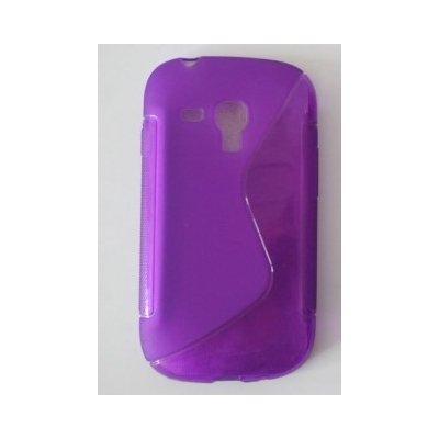 Pouzdro S-Line Samsung Galaxy Ace 4 G357 fialové