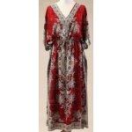 Dámské dlouhé plážové šaty tunika kaftan halena africké dashiki ca4e470ce53