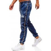 Bolf modré pánské džínové baggy kalhoty 2045 202966623c