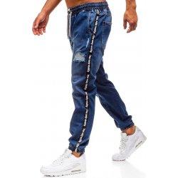 Bolf modré pánské džínové baggy kalhoty 2045 869b8329dc