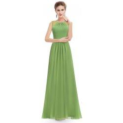 4cfa9eec4b3 Ever-Pretty dlouhé šifonové šaty bez rukávů EP08742GR zelená