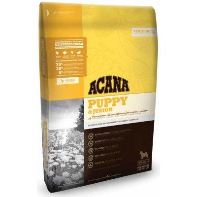 Acana Heritage PUPPY & JUNIOR 11,4 kg, holistická receptura