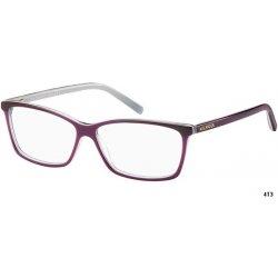 87d3551b3 Dioptrické brýle Tommy Hilfiger TH 1123 4T3 - fialová/bílá/šedáí ...