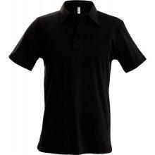 Pánská polokošile Jersey černá