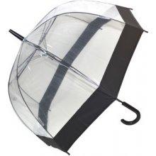Blooming Brollies Dámský průhledný holový deštník Clear Domes EDSCDB