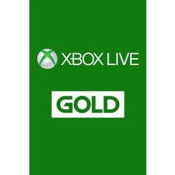 Microsoft Xbox Live Gold členství 1 měsíc