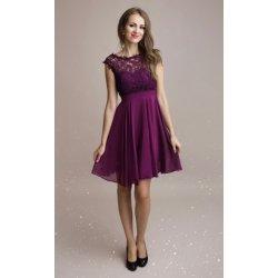 Eva   Lola dámské šaty Maelys fialová od 1 290 Kč - Heureka.cz 4fed8783d2