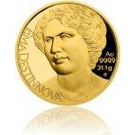 Česká mincovna Zlatá uncová mince Osudové ženy Ema Destinnová proof 31,1 g