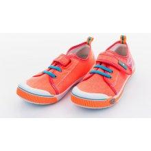 Dětské dívčí neon tenisky oranžové 479f4579d8