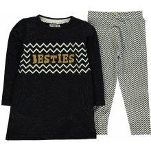 Heatons Embellished Sweater Set Child Girls Grey