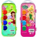 Vodové barvičky Disney Fairies Víla Zvonilka 12 barev 132018