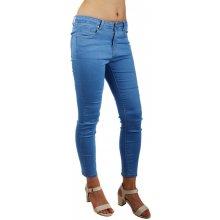 7b86c8619db Glara Dámské džíny ve zkrácené délce modrá 148014