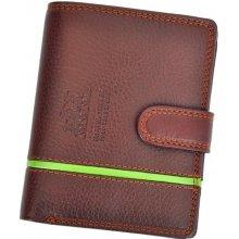 Harvey Miller Polo Club 5313 PL01 pánská kožená peněženka hnědá