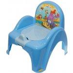 Tega Baby nočník hrající Safari modrý