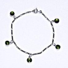 Swarovski krystaly olivine, kolečka, R 1336