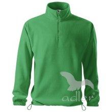 Horizon Pánská fleecová mikina středně zelená