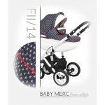 Baby Merc Faster 2 Style 2017 FII/14 + autosedačka Tmavě-modrá