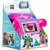 Ochranný a zábavný dětský obal / plyšová hračka na telefon WisePet, Pinky