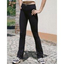 3b3dc4d9baa Gina zvonové černé dámské kalhoty