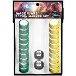 Arcane Wonders Mage Wars: Action Marker set 1