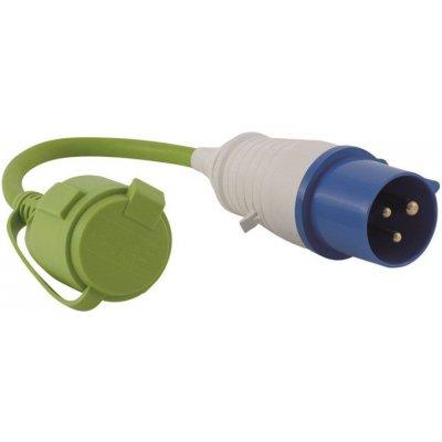 Adapter CEE/Schuko kempová redukce 30cm 321/048