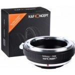 K&F Concept Nikon Samsung NX adaptér